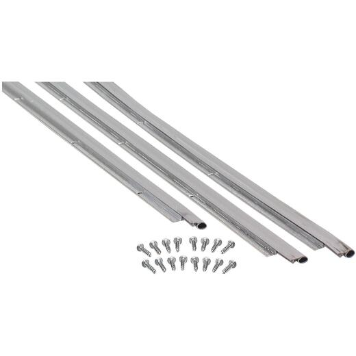 M-D 36 In. x 7 Ft. Nickel Door Jamb Weatherstrip