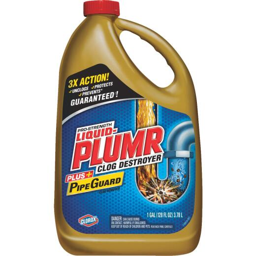 Liquid-Plumr 128 Oz. Pro-Strength Clog Destroyer Drain Cleaner