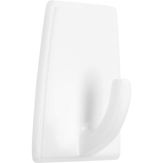Homz Large Adhesive Hook With Peel 'n Stick Tape