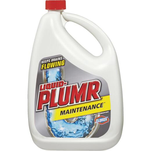 Liquid-Plumr 80 Oz. Maintenance Liquid Drain Cleaner